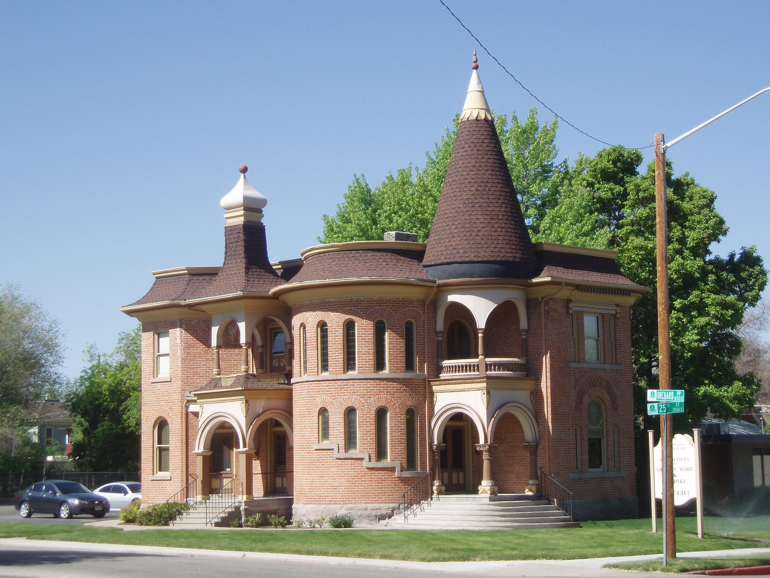 File Smyth House Ogden Utah Jpeg Wikimedia Commons