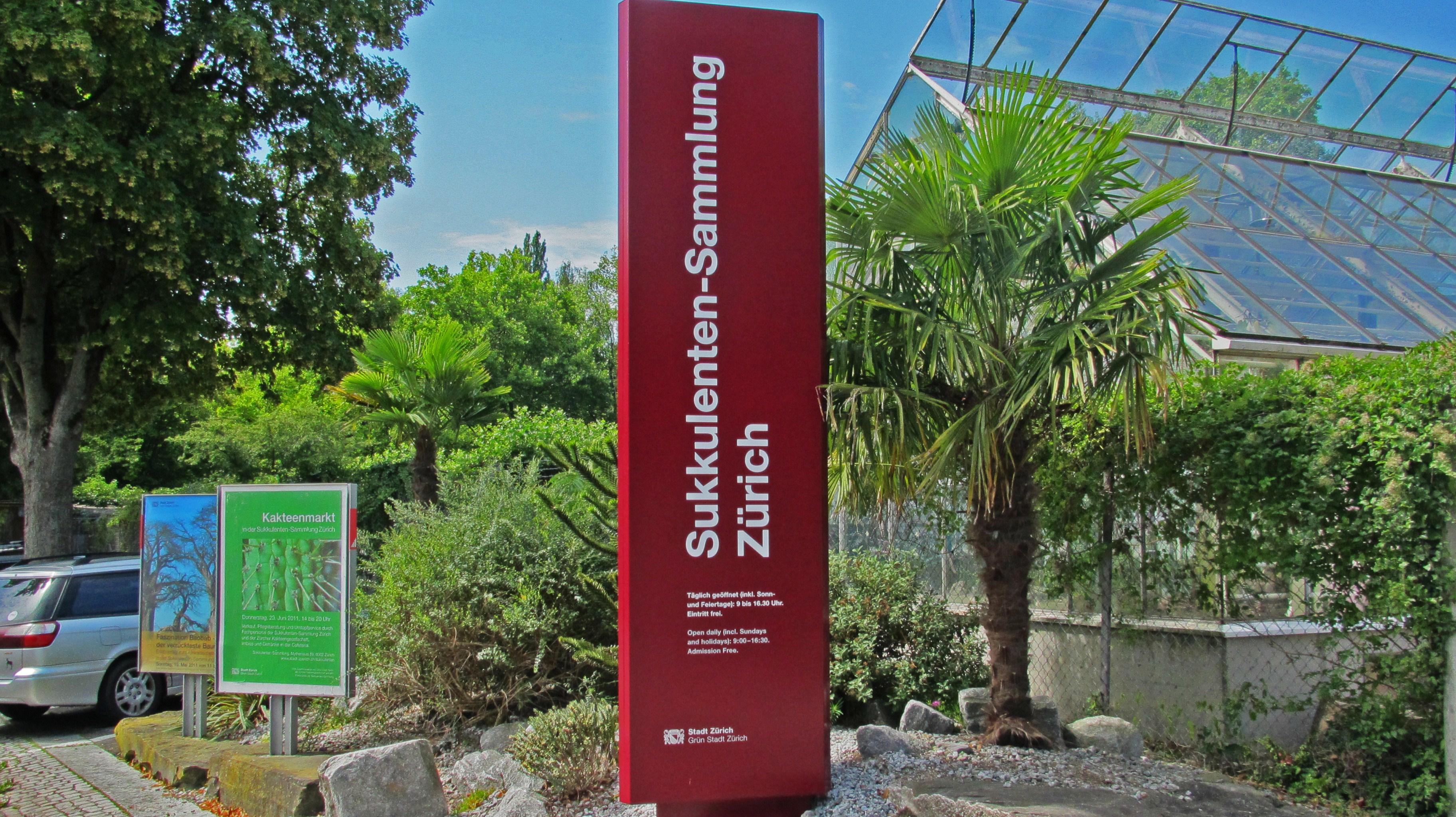 File Städtische Sukkulenten Sammlung 1 JPG ~ 15105120_Sukkulenten Sammlung Zürich Parkplatz
