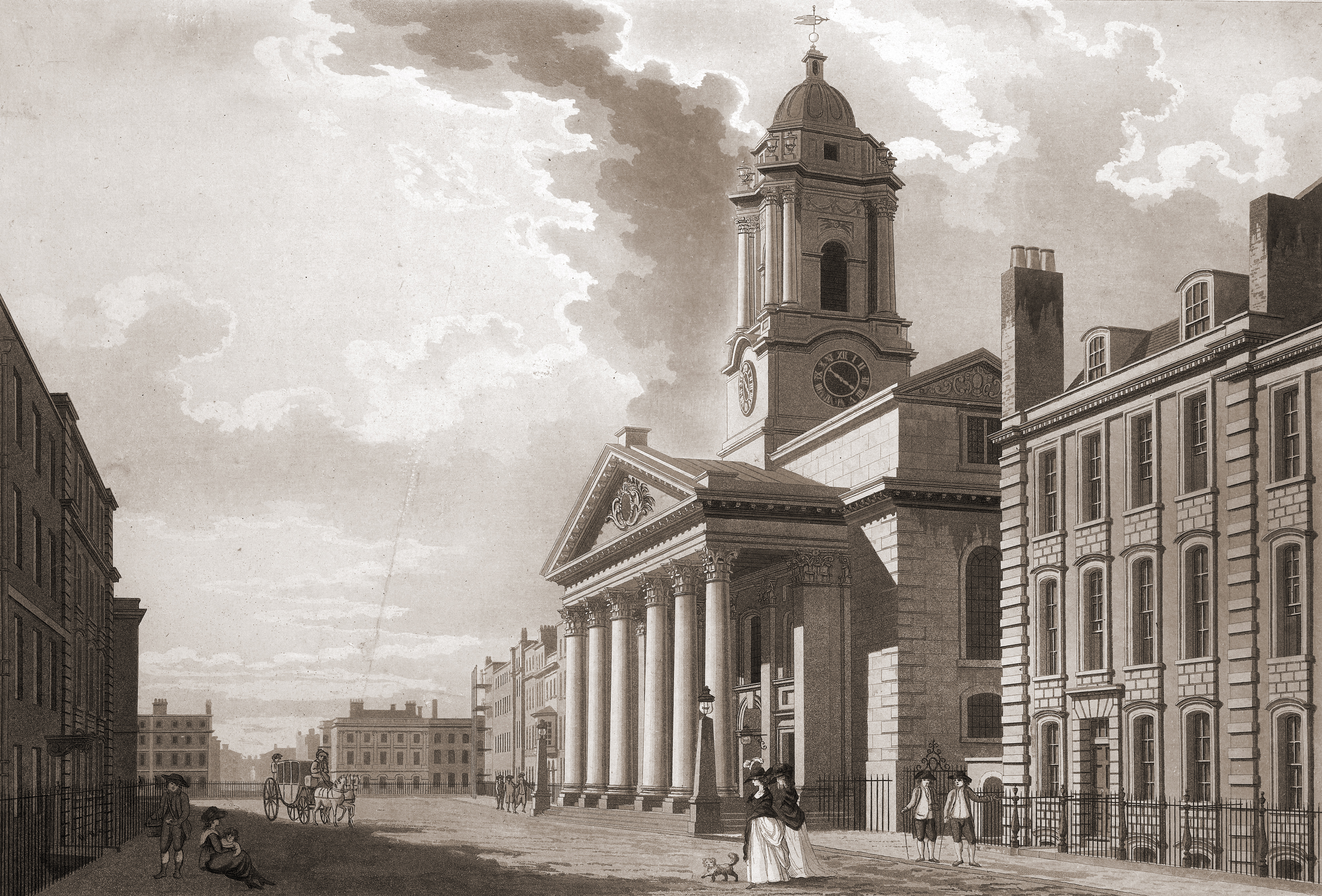 File:St George's Hanover Square by T Malton. 1787.jpg
