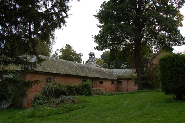 Thorpe Perrow stables block and clock tower - geograph.org.uk - 1021600