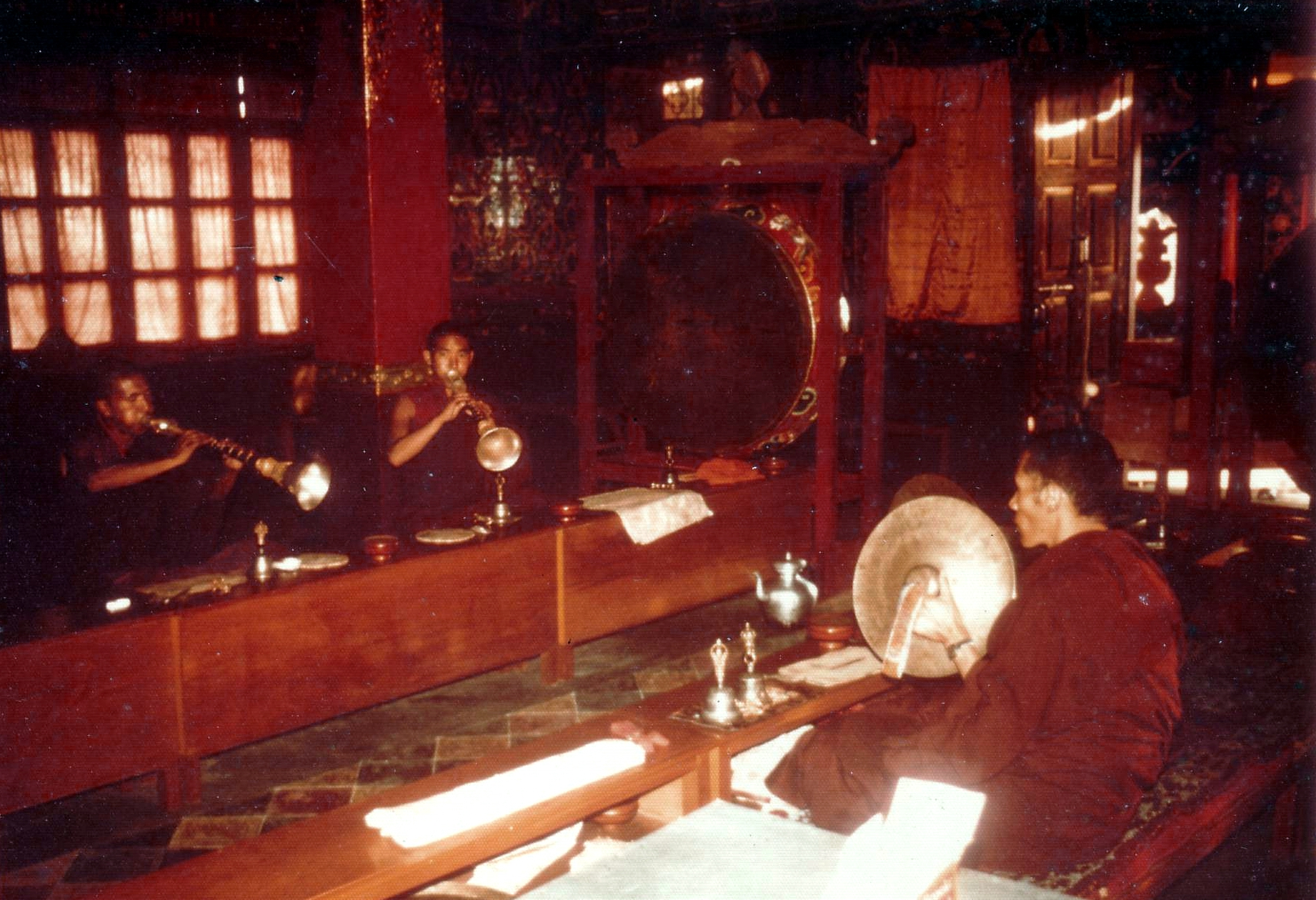 1385 Anhänger DORJE VAJRA aus Kupfer ~ GROSS ~ Tibet ~ Nepal