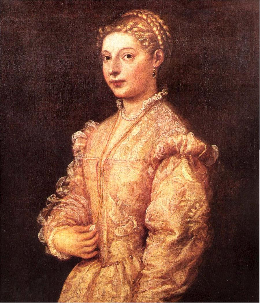 Portrait of Lavinia Vecellio - Wikipedia