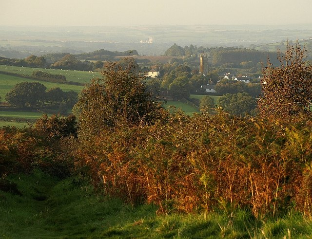 Towards South Tawton from Ramsley Hill - geograph.org.uk - 990197