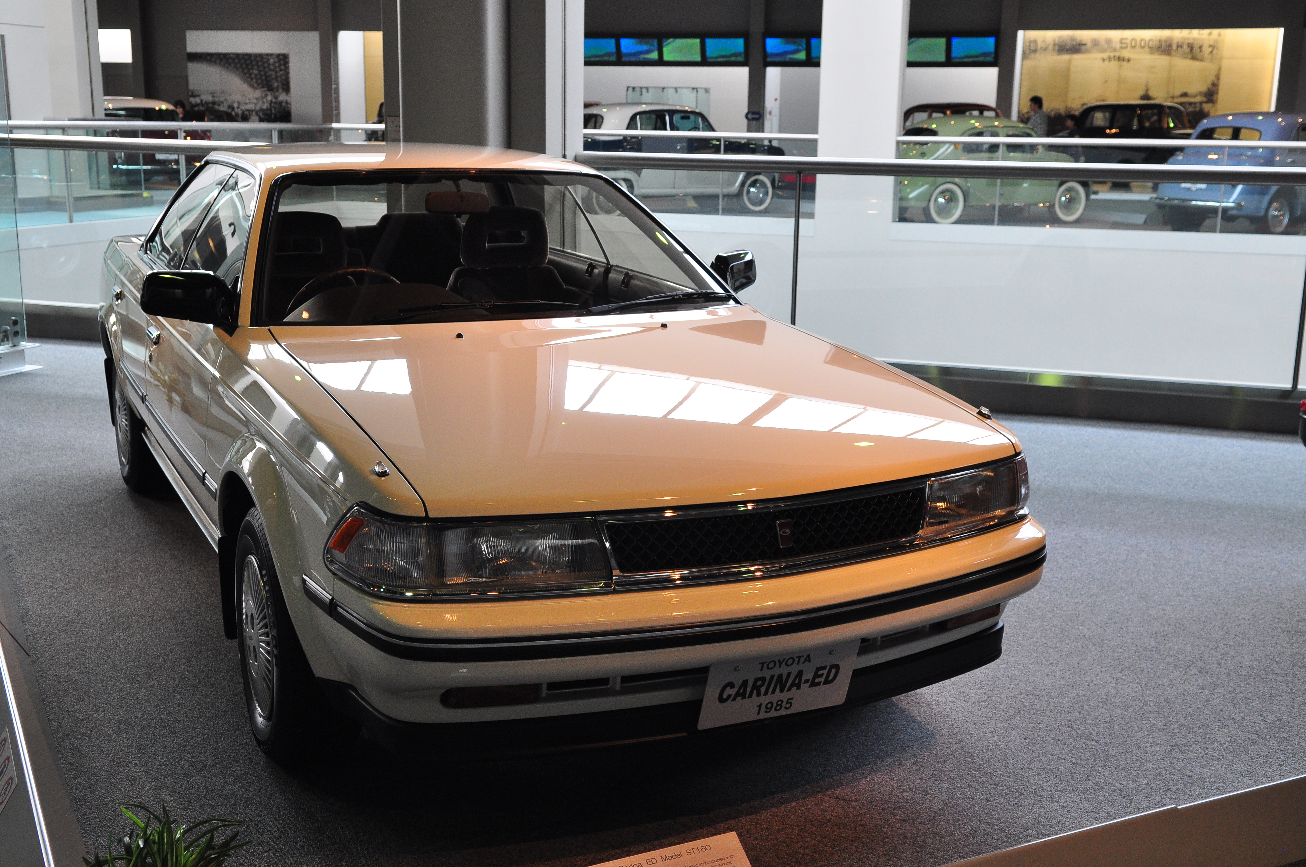 File Toyota Carina Ed 1 8 X St160 In Automobile Museum Jpg