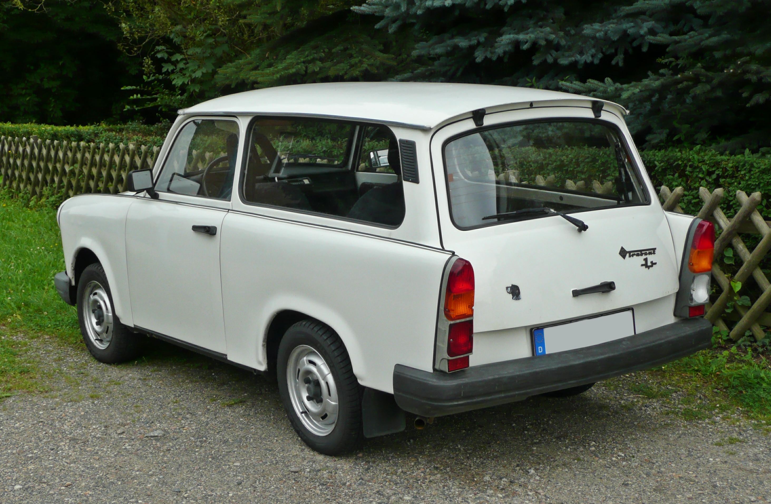 West German Wagon: 1978 Trabant 601 S