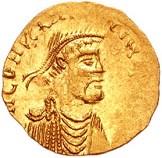 Tremissis of Constans II Pogonatus