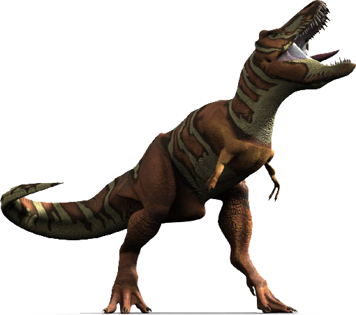 Dinosaur With Red Shoes