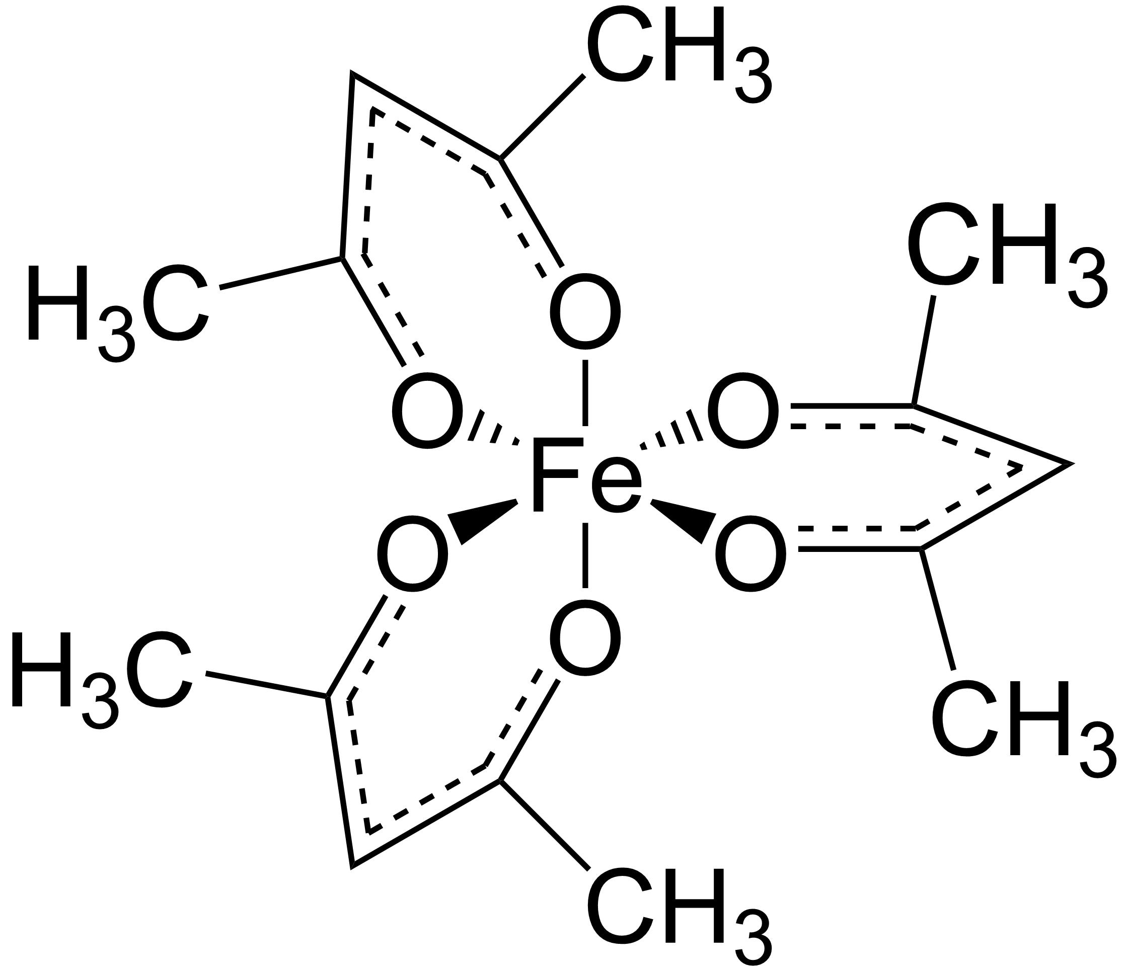 Tris Acetylacetonato Iron Iii Wikipedia