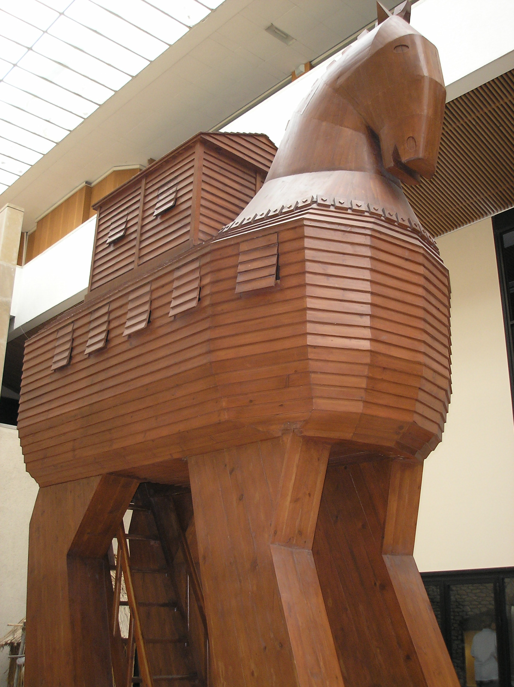 Trojan horse. Istambul Museum of Archaeology - Picture taken by deror avi on July 2005.