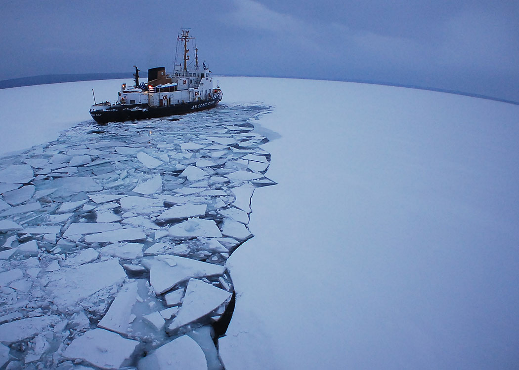 File:USCGC Katmai Bay ice breaking in the Great Lakes (5426244902 ...
