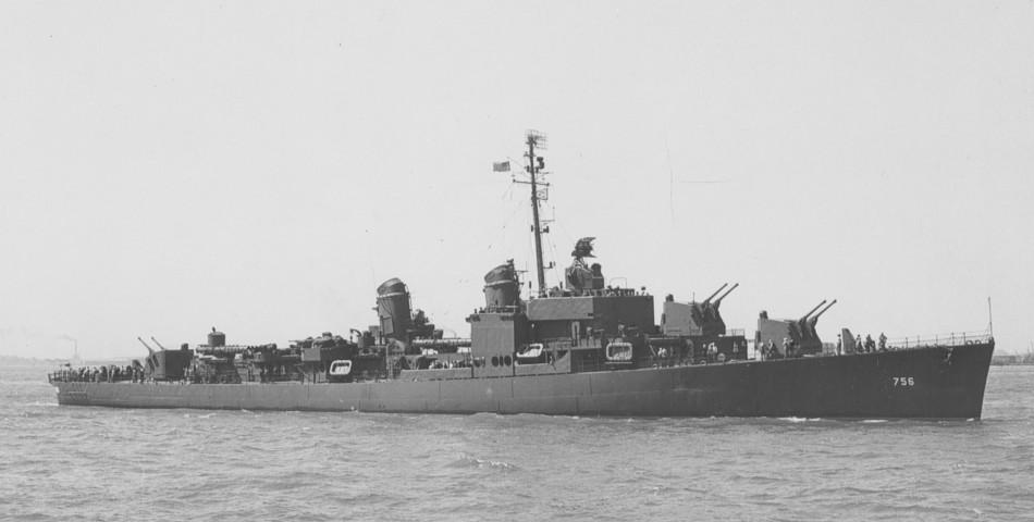 USS Beatty (DD-756) - Wikipedia
