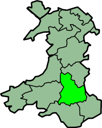 Brecknockshire historic county of Wales