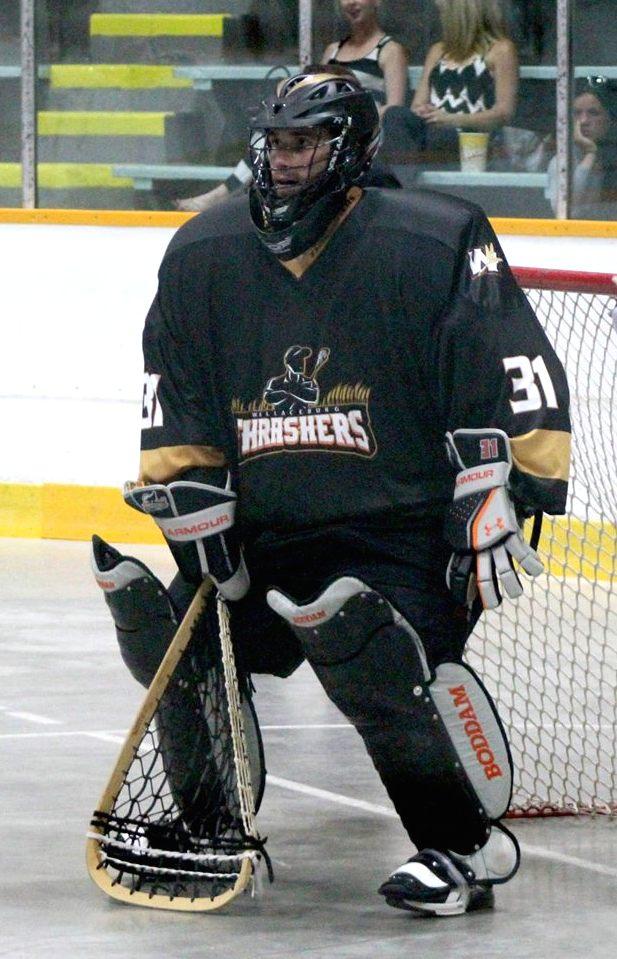 Box lacrosse face off tips hockey