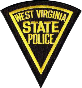 English: West Virginia State Police patch. Mad...