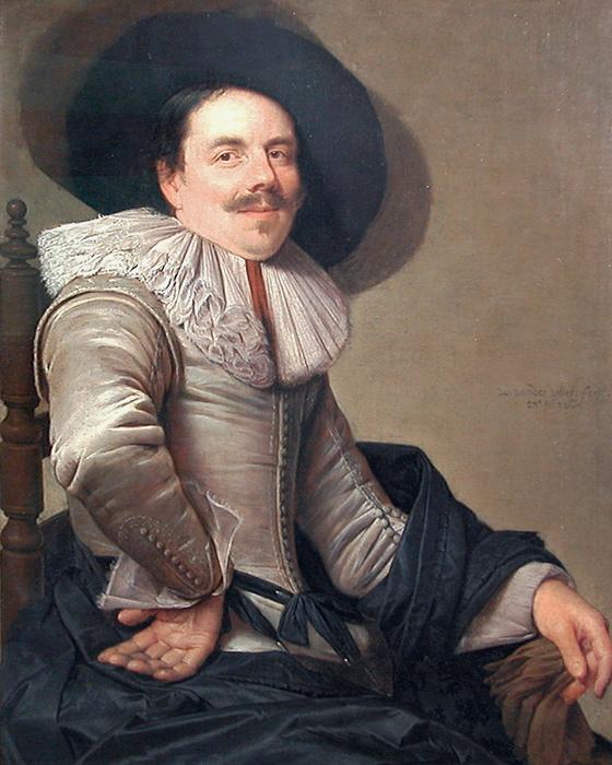 Portrait d'homme assis