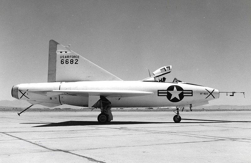 File:XF-92A Edwards AFB.jpg