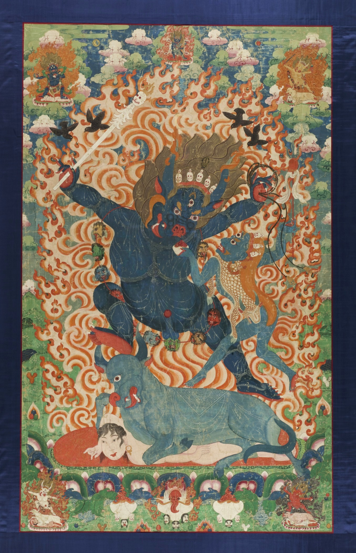 File:Yama and Yami Eastern Tibet, Kham region, circa 1675-1725 ...