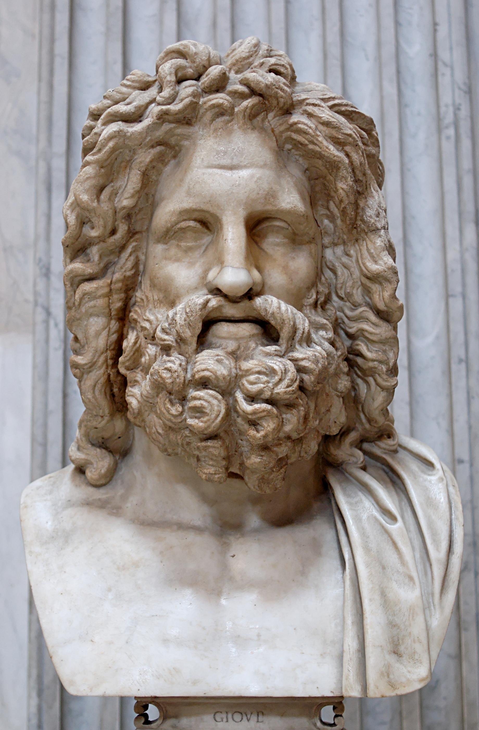 Depiction of Zeus