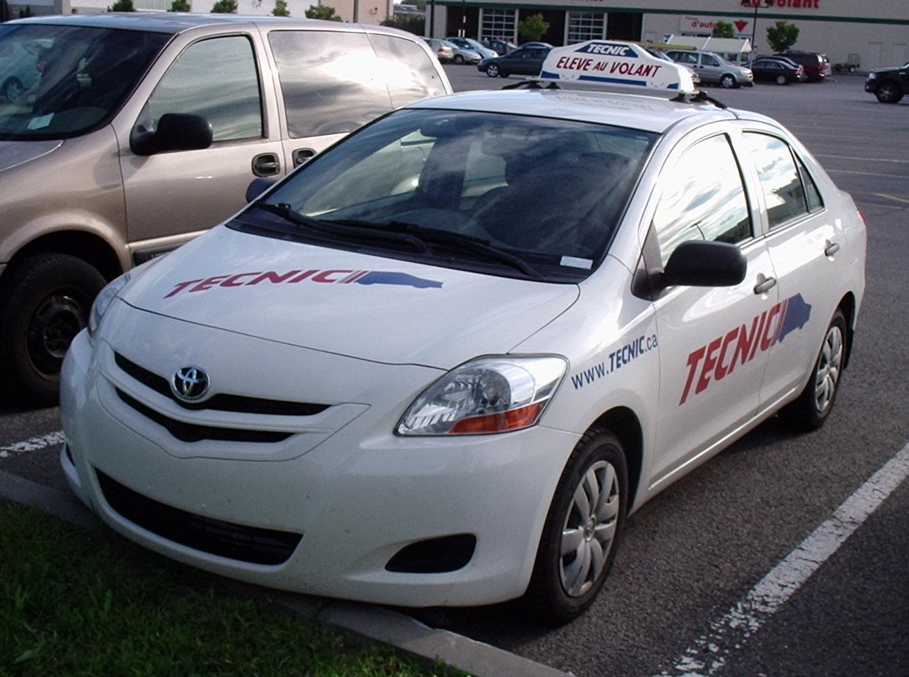 Toyota Yaris Driving School Car Llandudno