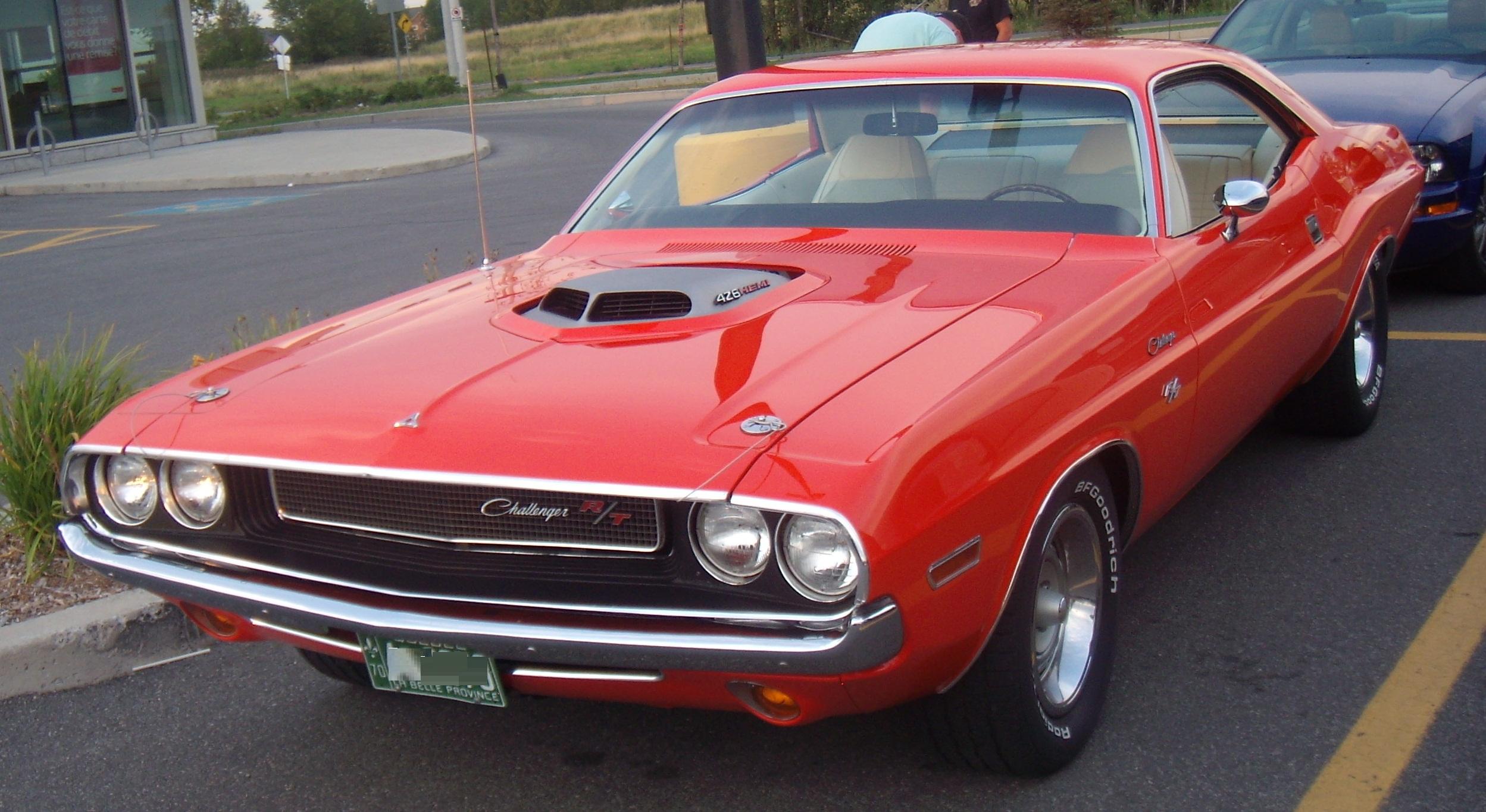 File 70 Dodge Challenger Auto Classique Bellepros