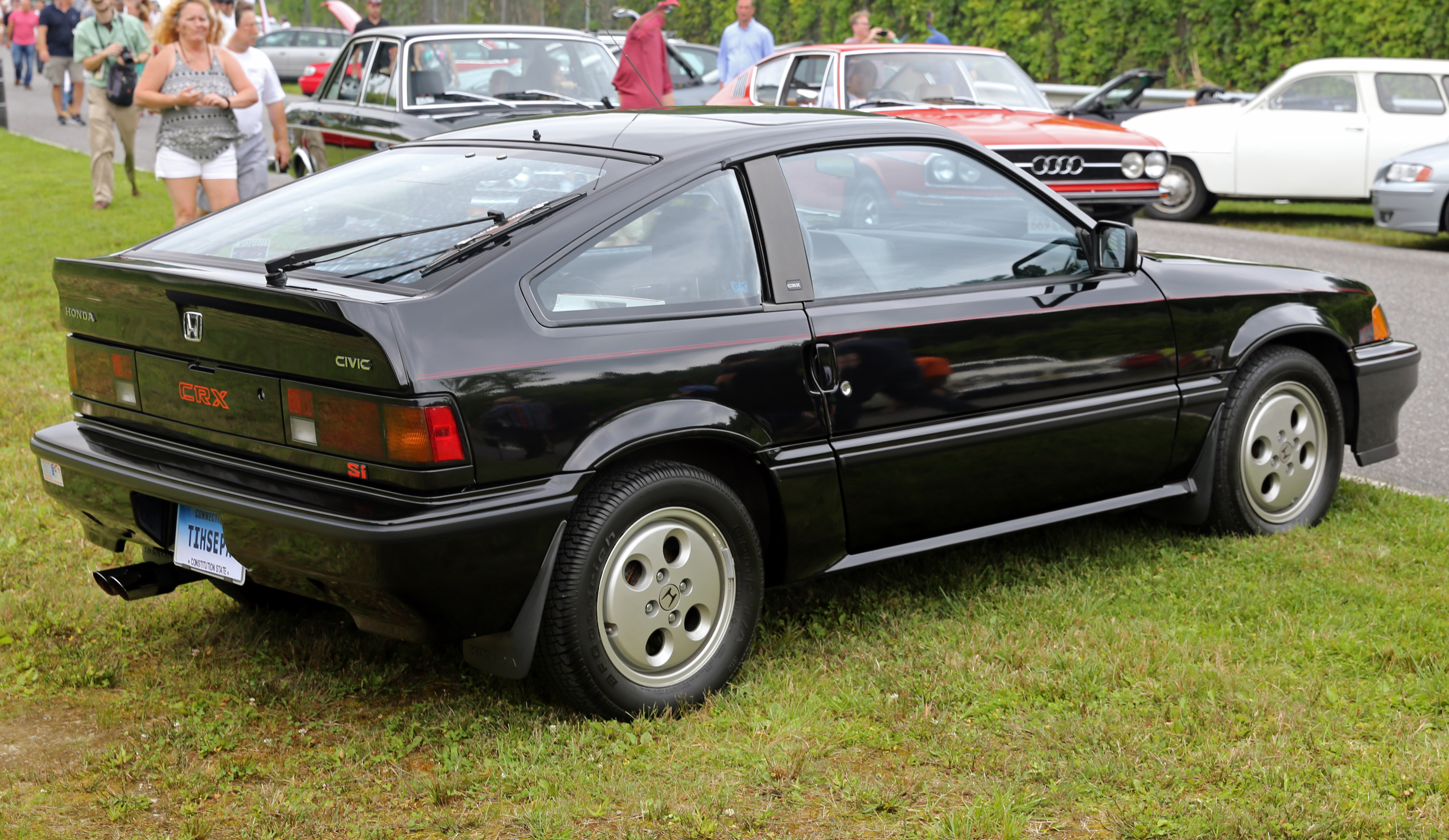 file 1987 honda crx si rear right lime rock jpg wikipedia. Black Bedroom Furniture Sets. Home Design Ideas