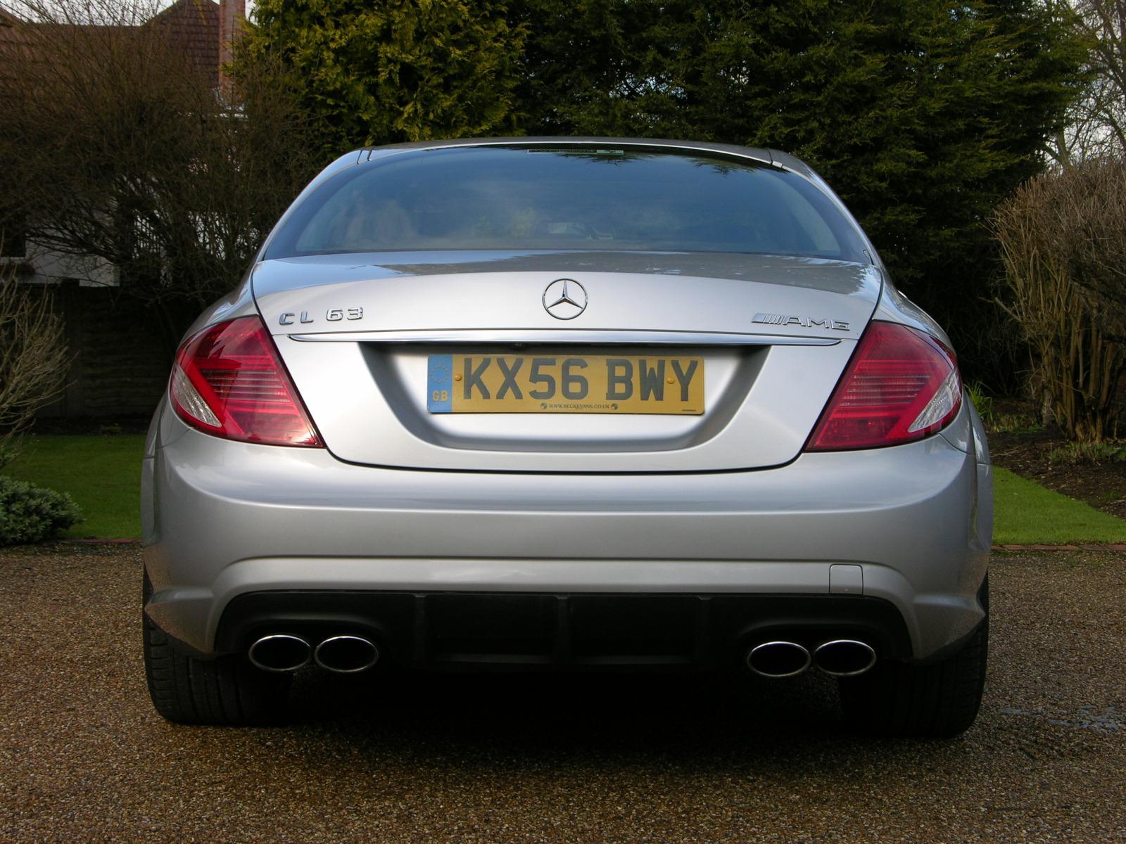File 2007 Mercedes Benz Cl63 Amg Flickr The Car Spy 36 Jpg