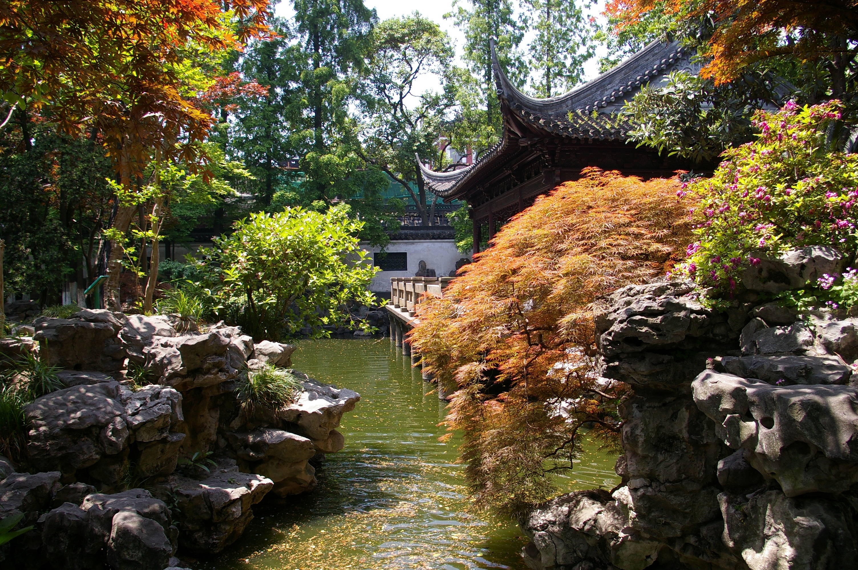 Landscape design history of china for Chinese garden design