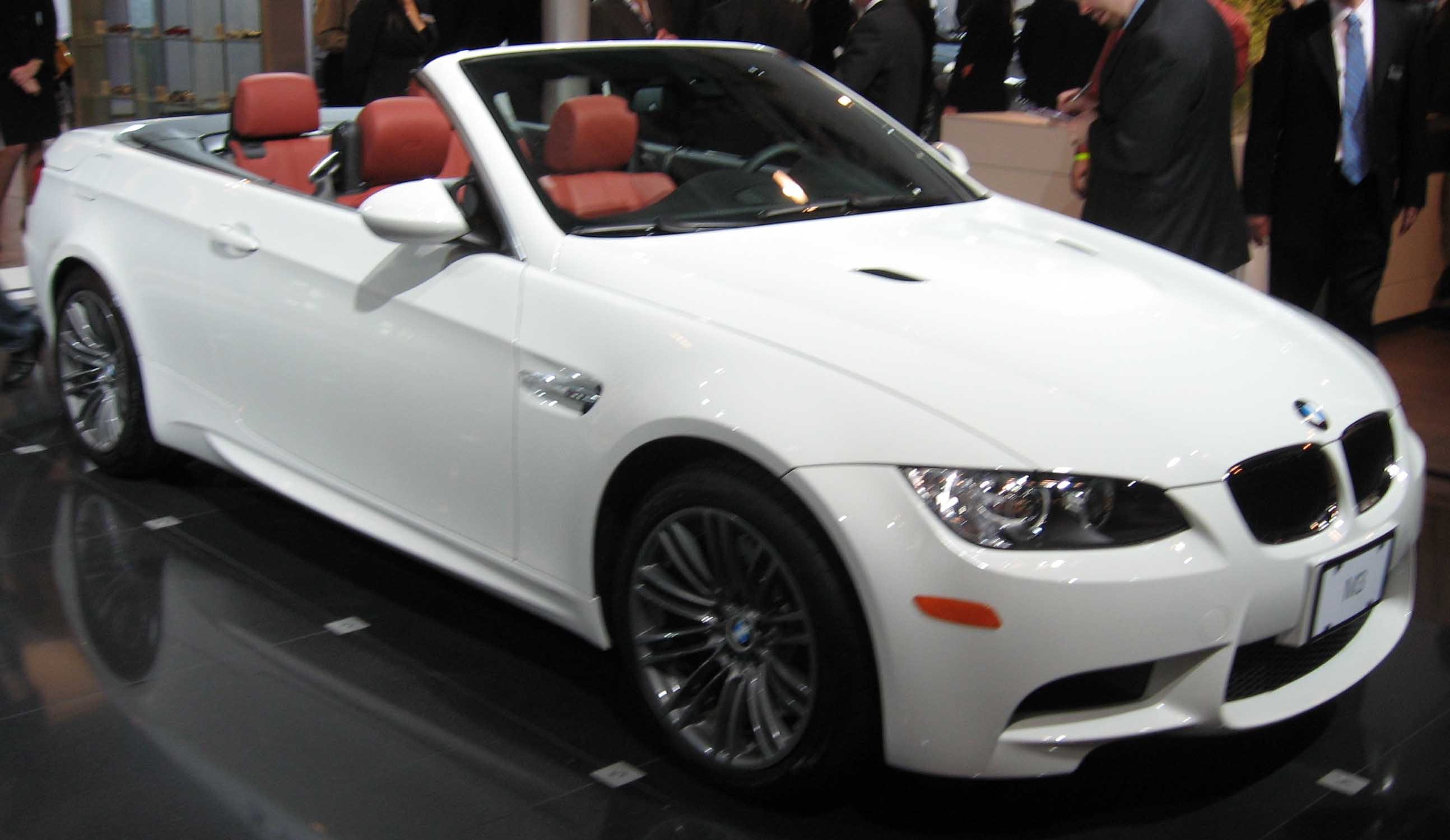 File2009 BMW M3 convertible NYjpg  Wikimedia Commons