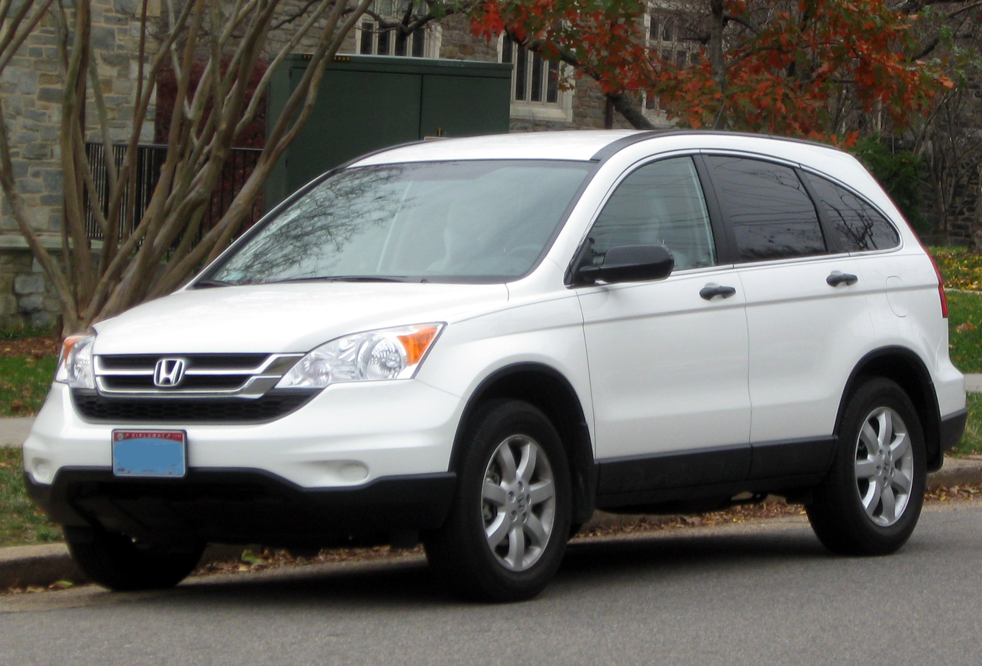 File 2010 2011 Honda Cr V Ex 11 20 2011 Jpg Wikimedia Commons