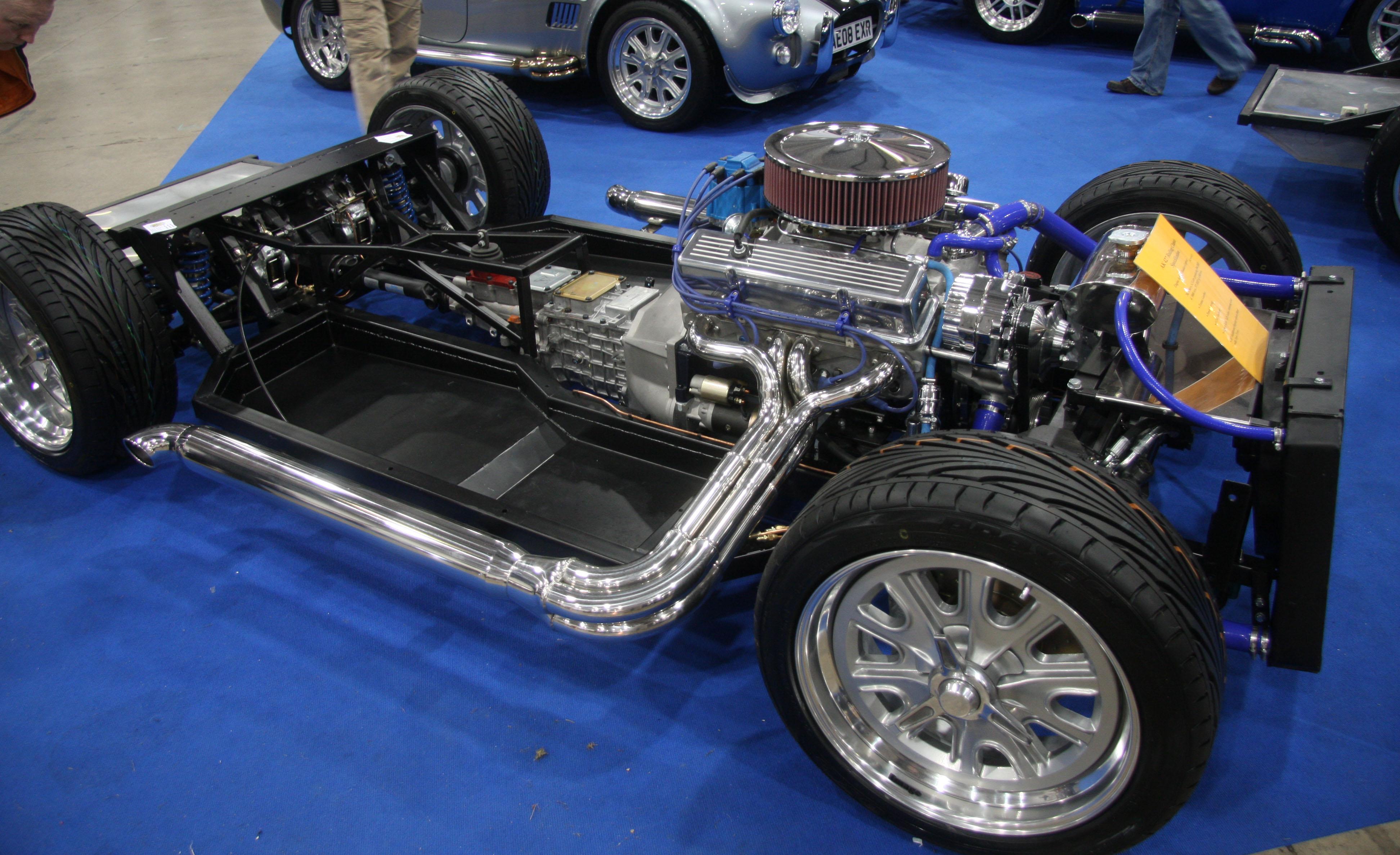 Ac Cobra Kit Car >> File:AK 427 Cobra replica rolling chassis - Flickr - exfordy (2).jpg - Wikimedia Commons