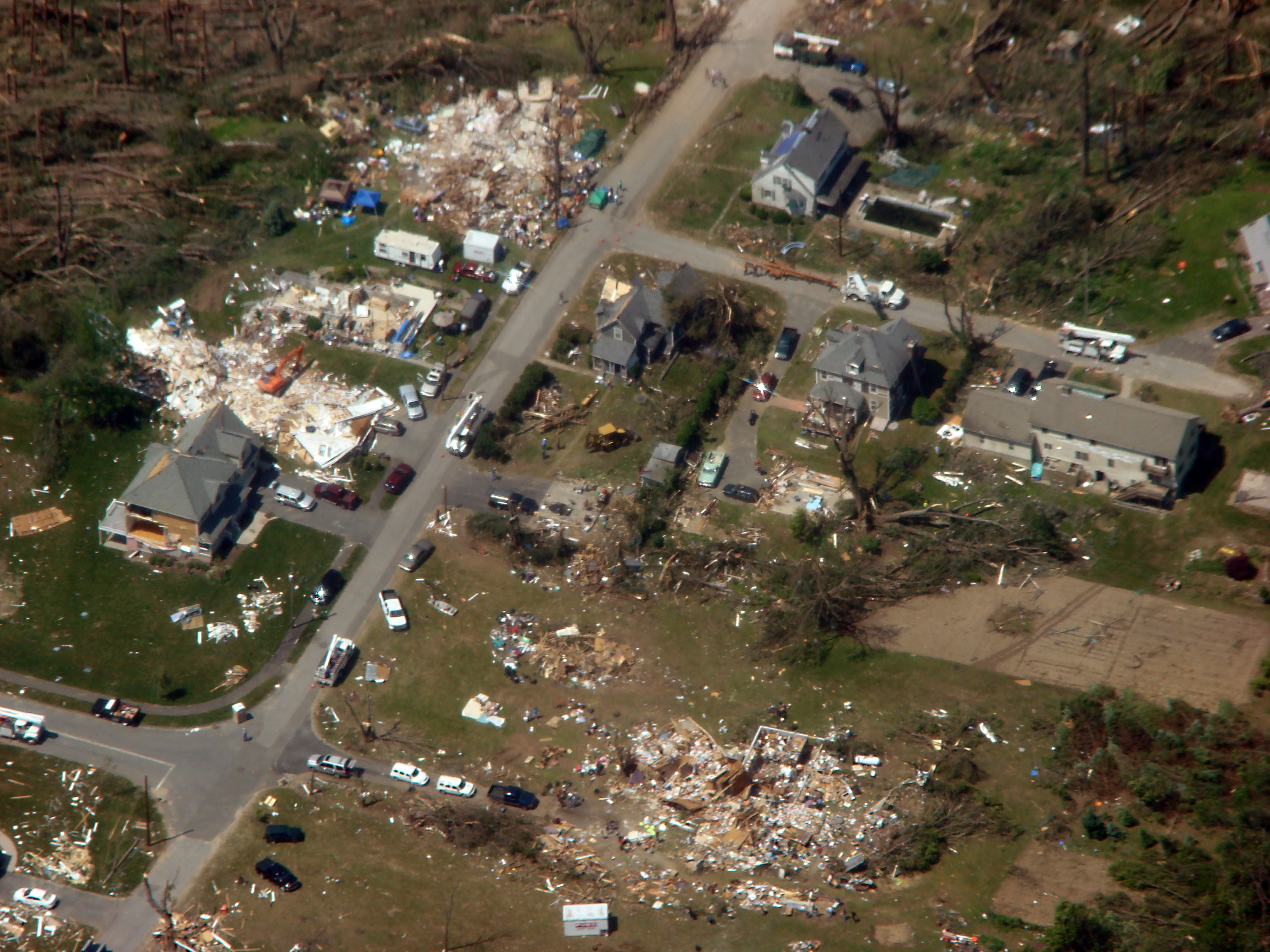 fileaerial view of houses destroyed by 2011 tornado