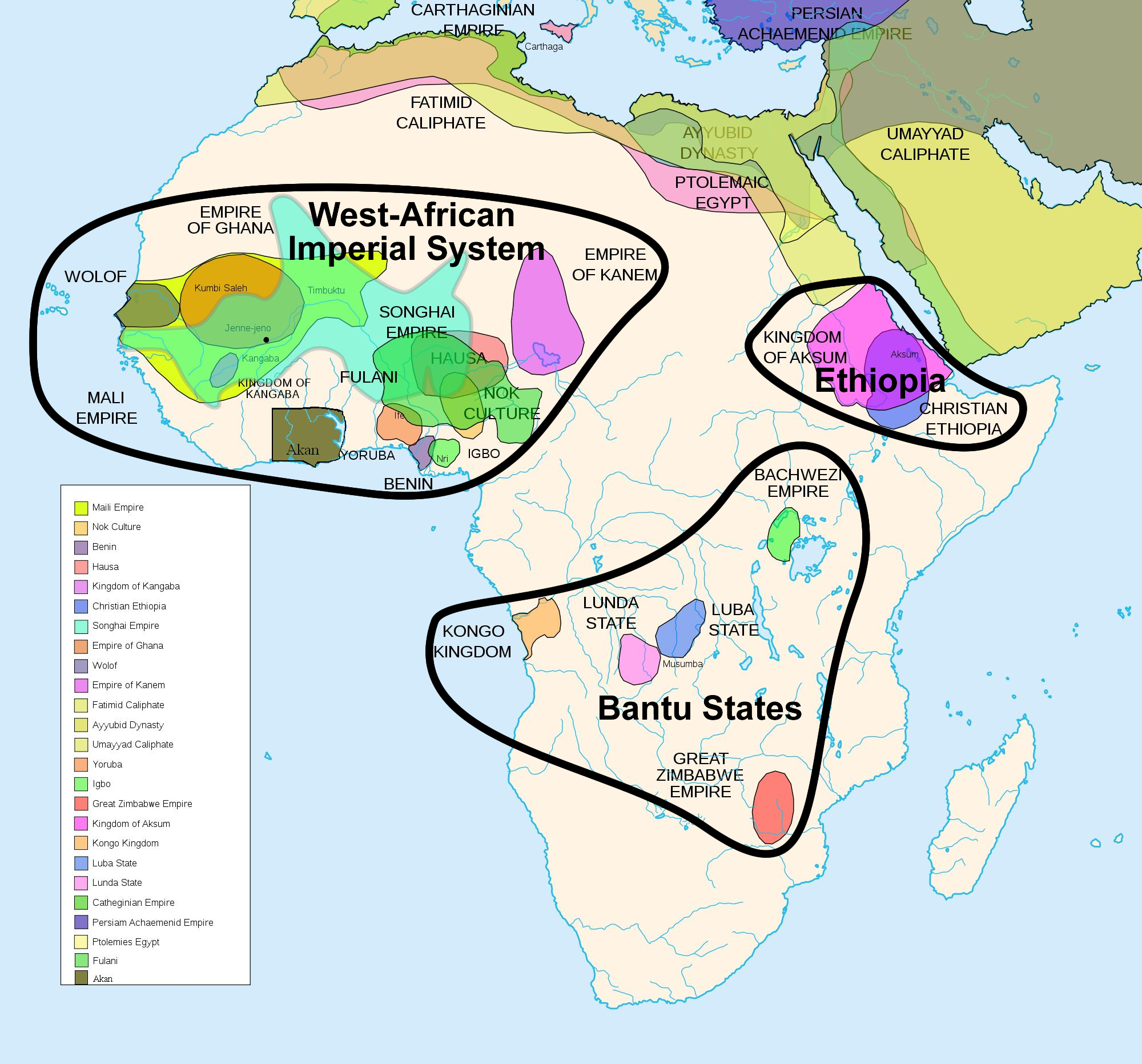 a history of empires in africa