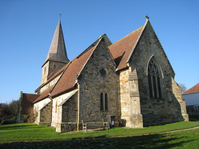 All Saints Church, Old Heathfield, East Sussex - geograph.org.uk - 1104818