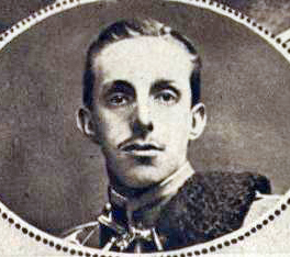 The then King of Spain Alfonso XIII - Real Madrid C.F.