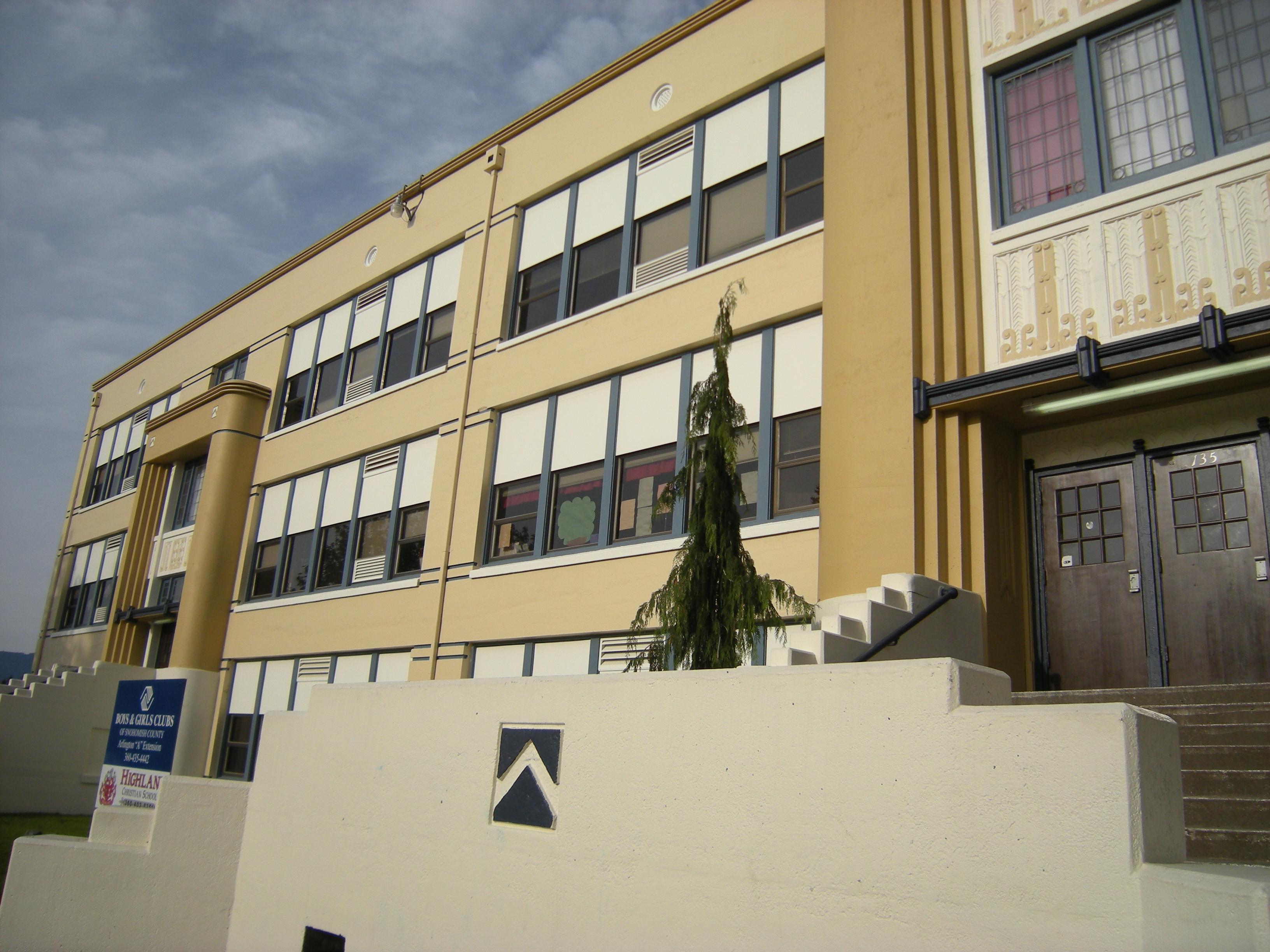 File:Arlington, WA - old Arlington High School 04.jpg - Wikimedia ...