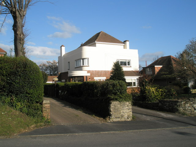 file art deco house in east cosham road geograph org uk 745792