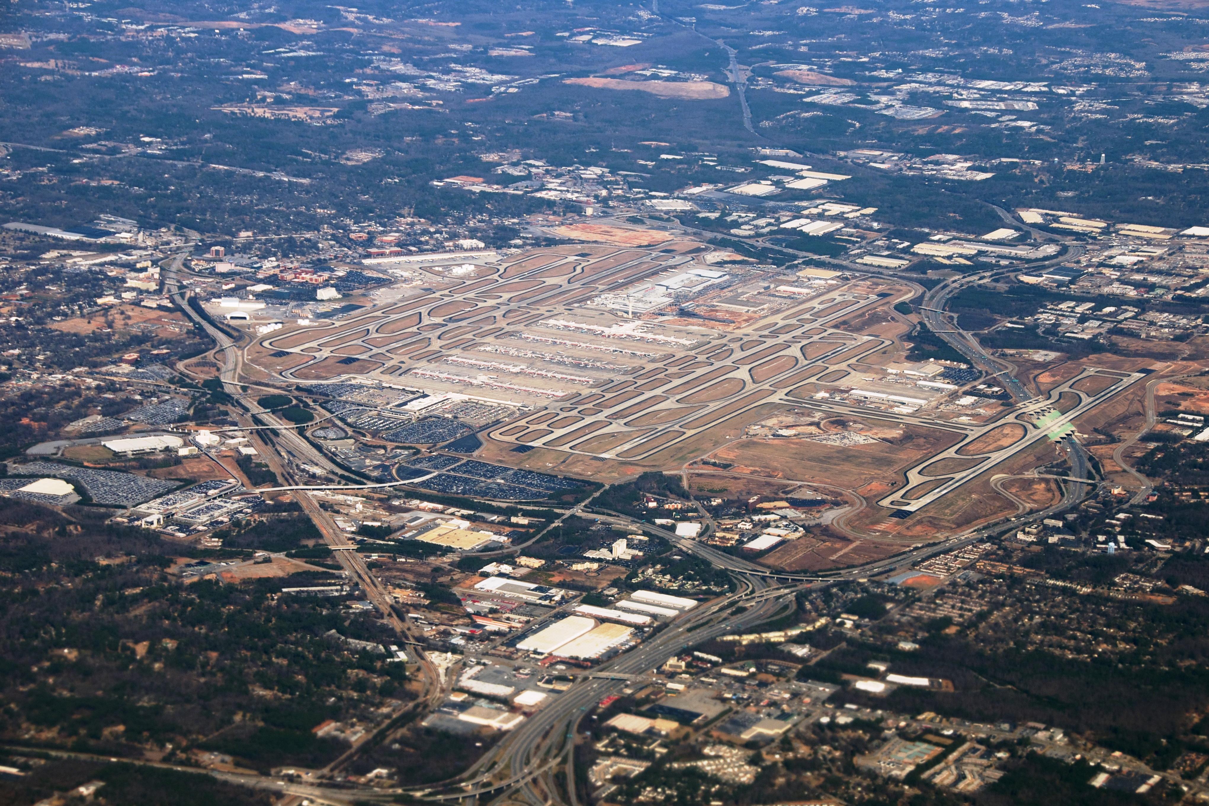 Atlantské letisko Hartsfield Jackson