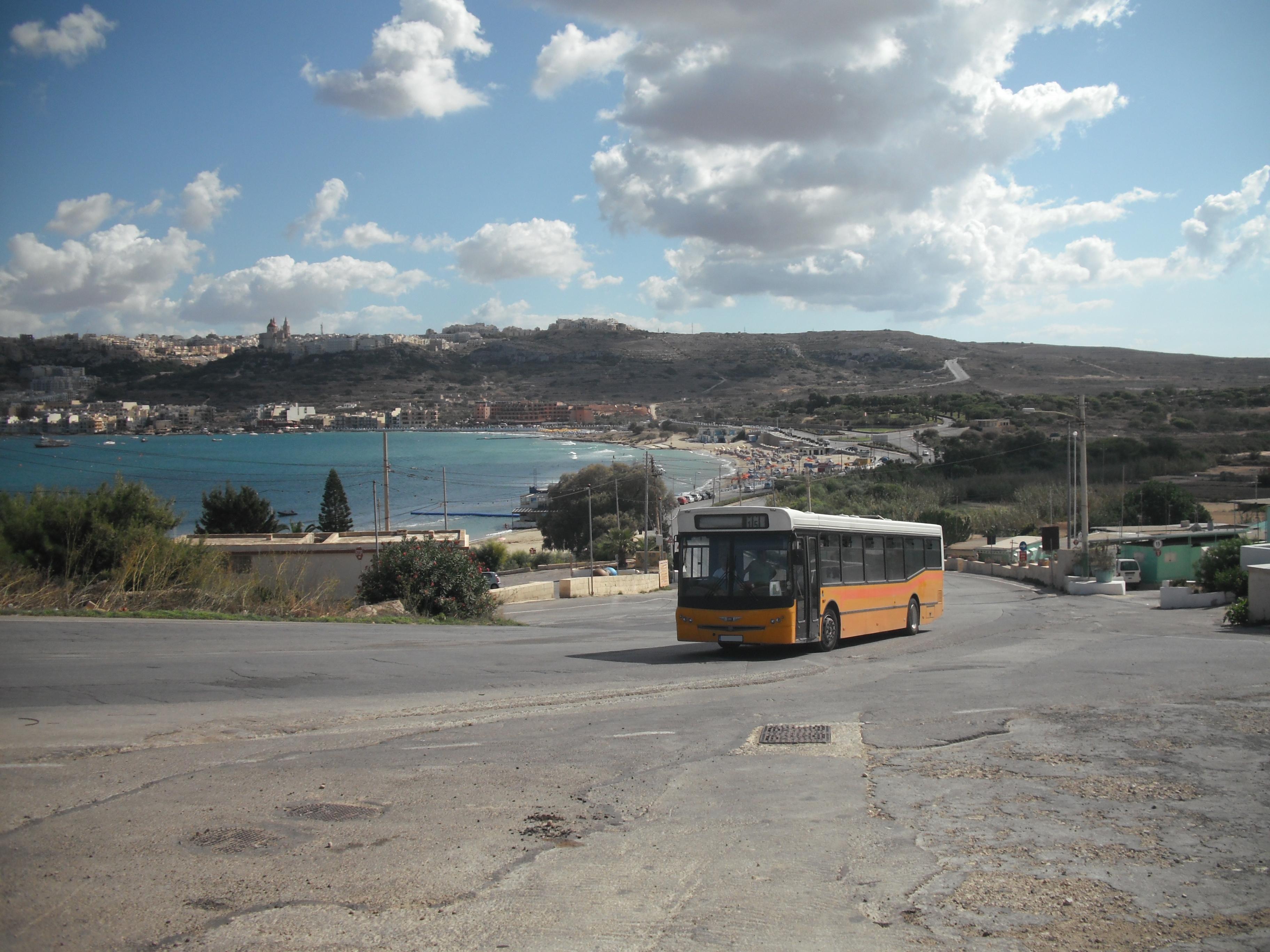 Maltesischer Linienbus (Lackierung bis Juli 2011)