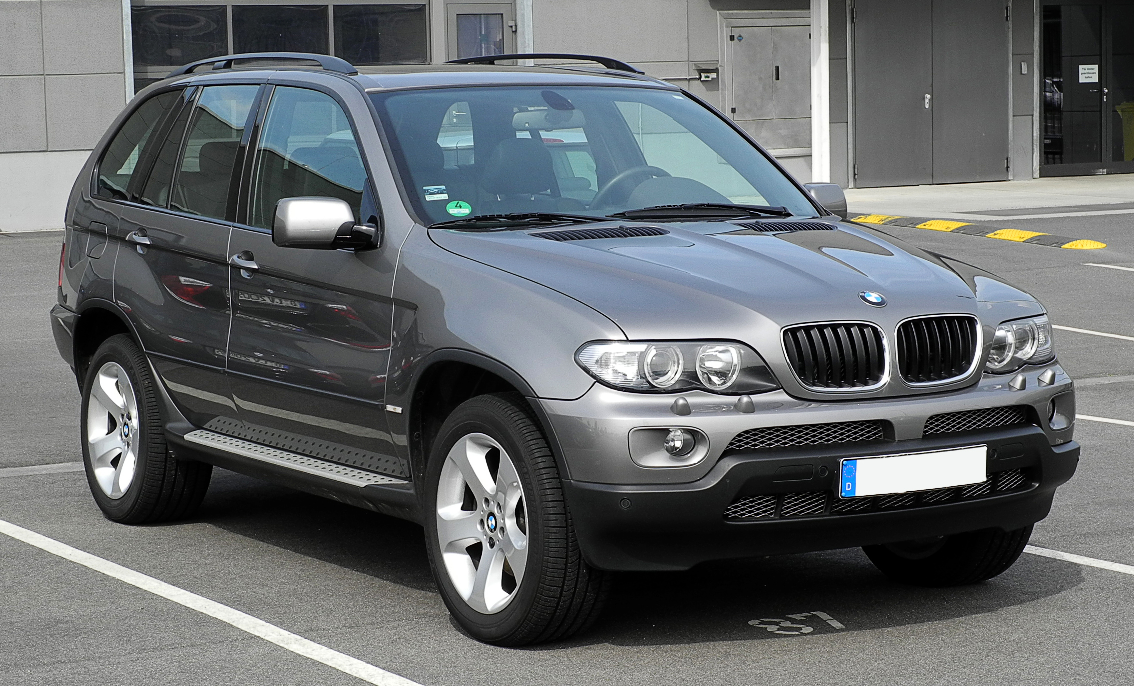 file bmw x5 e53 facelift frontansicht 12 juni 2011. Black Bedroom Furniture Sets. Home Design Ideas