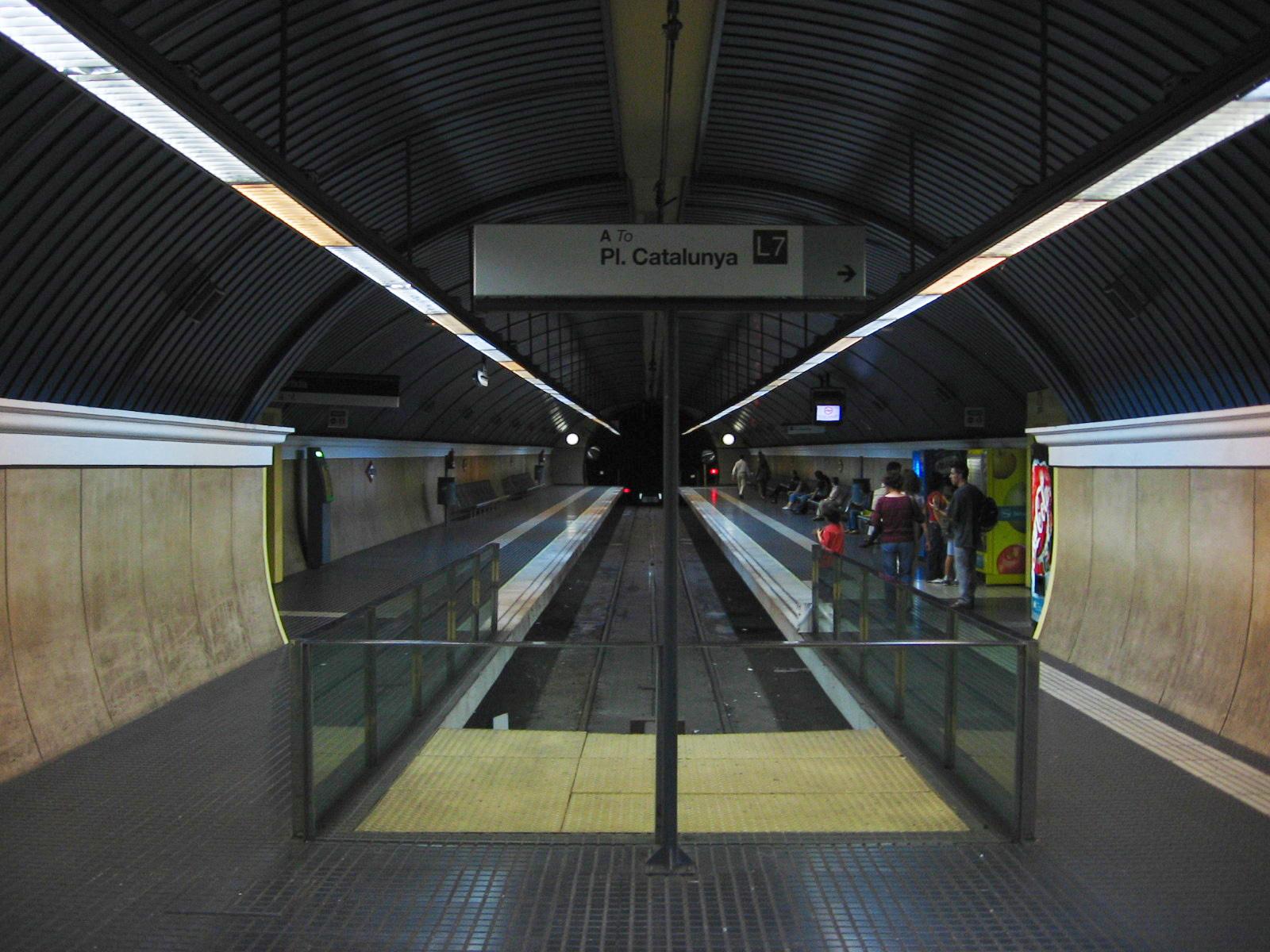 Barcelona Tibidabo Metro Barcelona Metro Avinguda