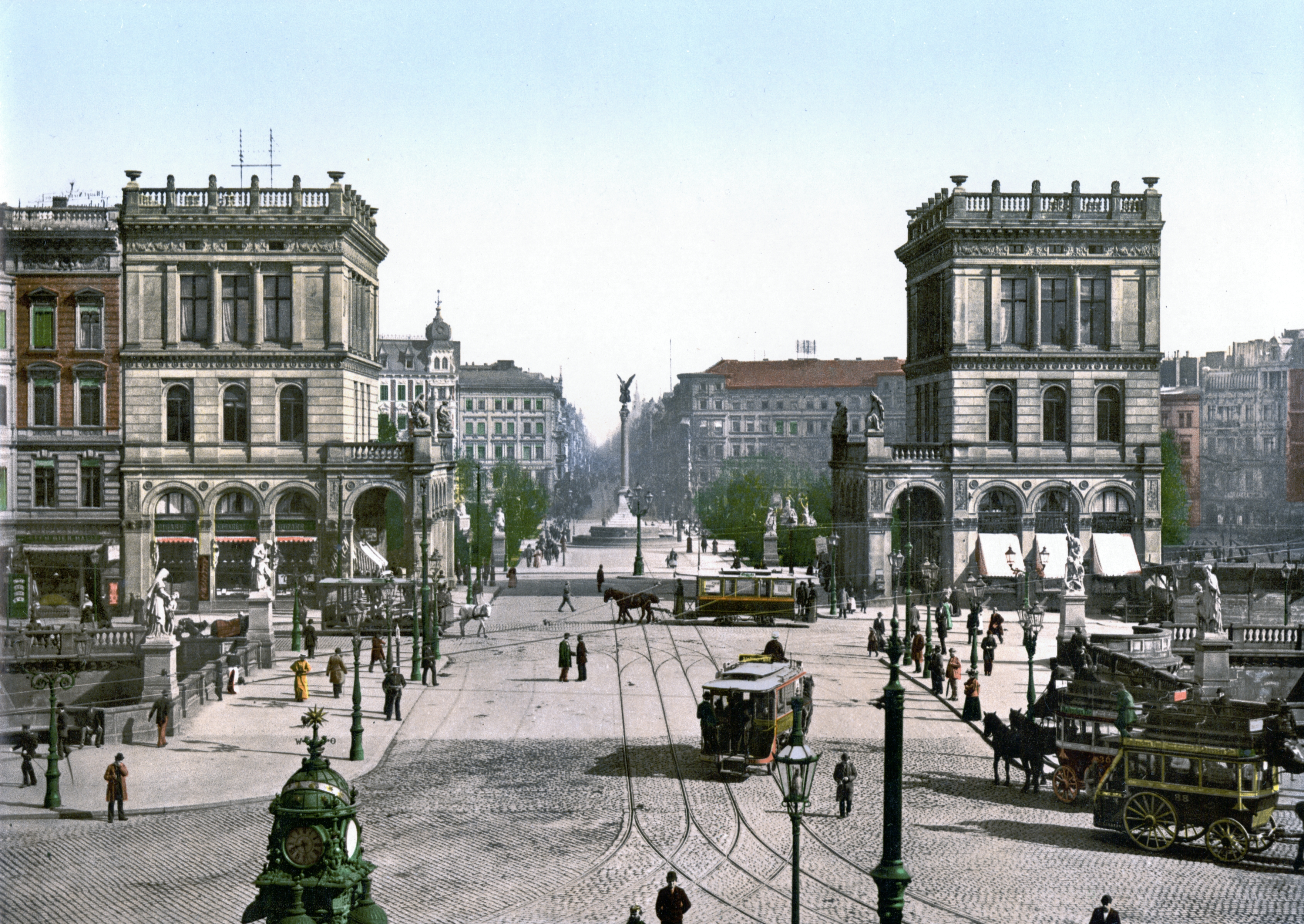 Berlin Belle Alliance Platz um 1900.jpg