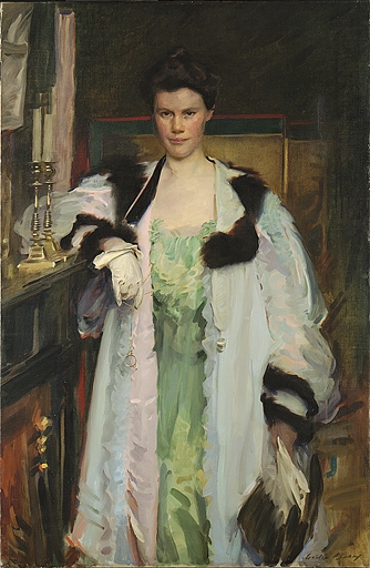 Bertha Hallowell Vaughan by Cecilia Beaux 1901