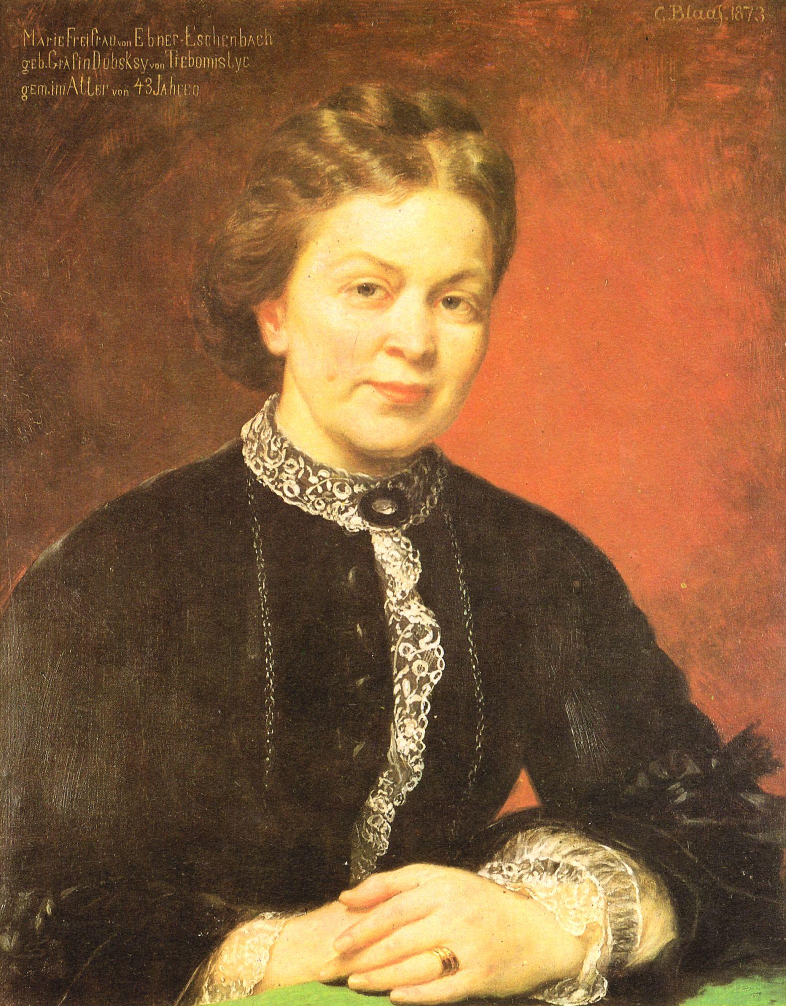 Blaas – Marie von Ebner-Eschenbach