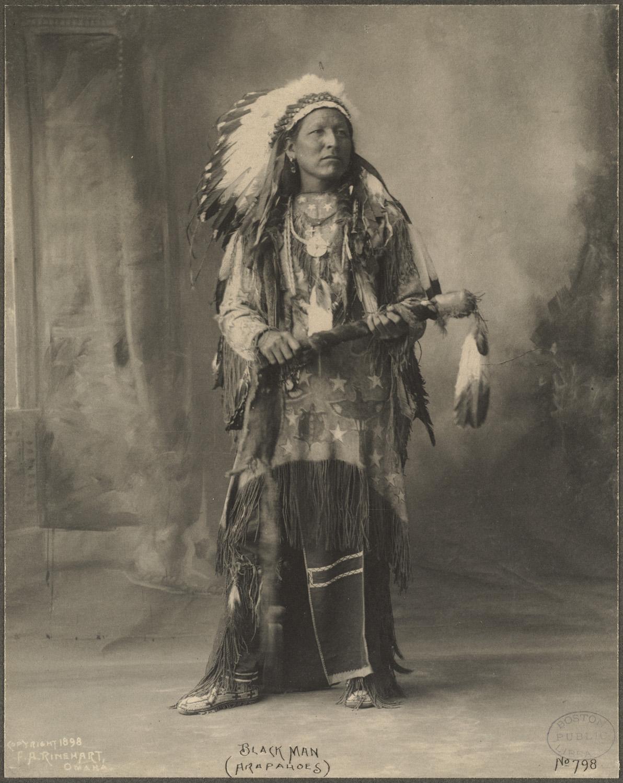 Black Man C Arapahoes