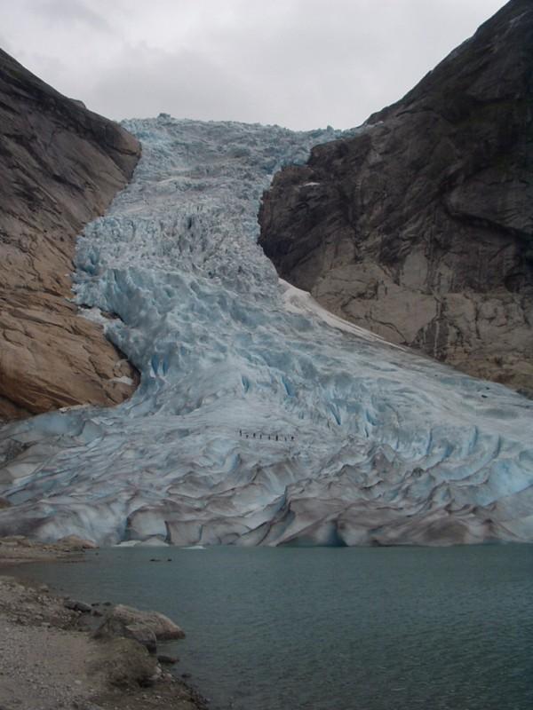 Zona De Ablaci U00f3n De Un Glaciar