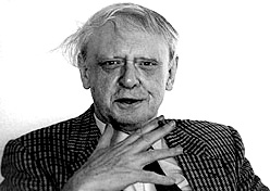 English: Anthony Burgess visited us at home in...
