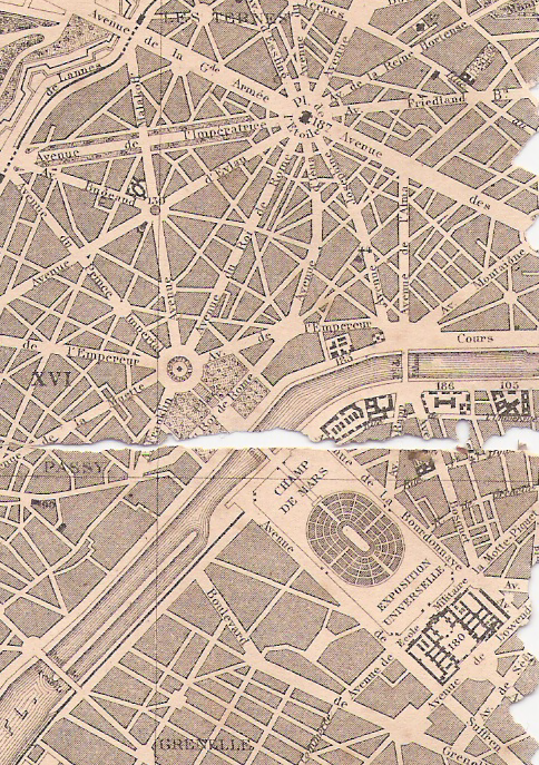 plan of champ de mars paris 1889 Architecture history - plan of champ de mars, paris 1889.