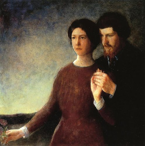 Charles Webster Hawthorne-The Lovers
