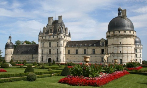 Castillo de Valençay en Francia, donde se encontraban encerrados Fernando VII y Carlos IV.