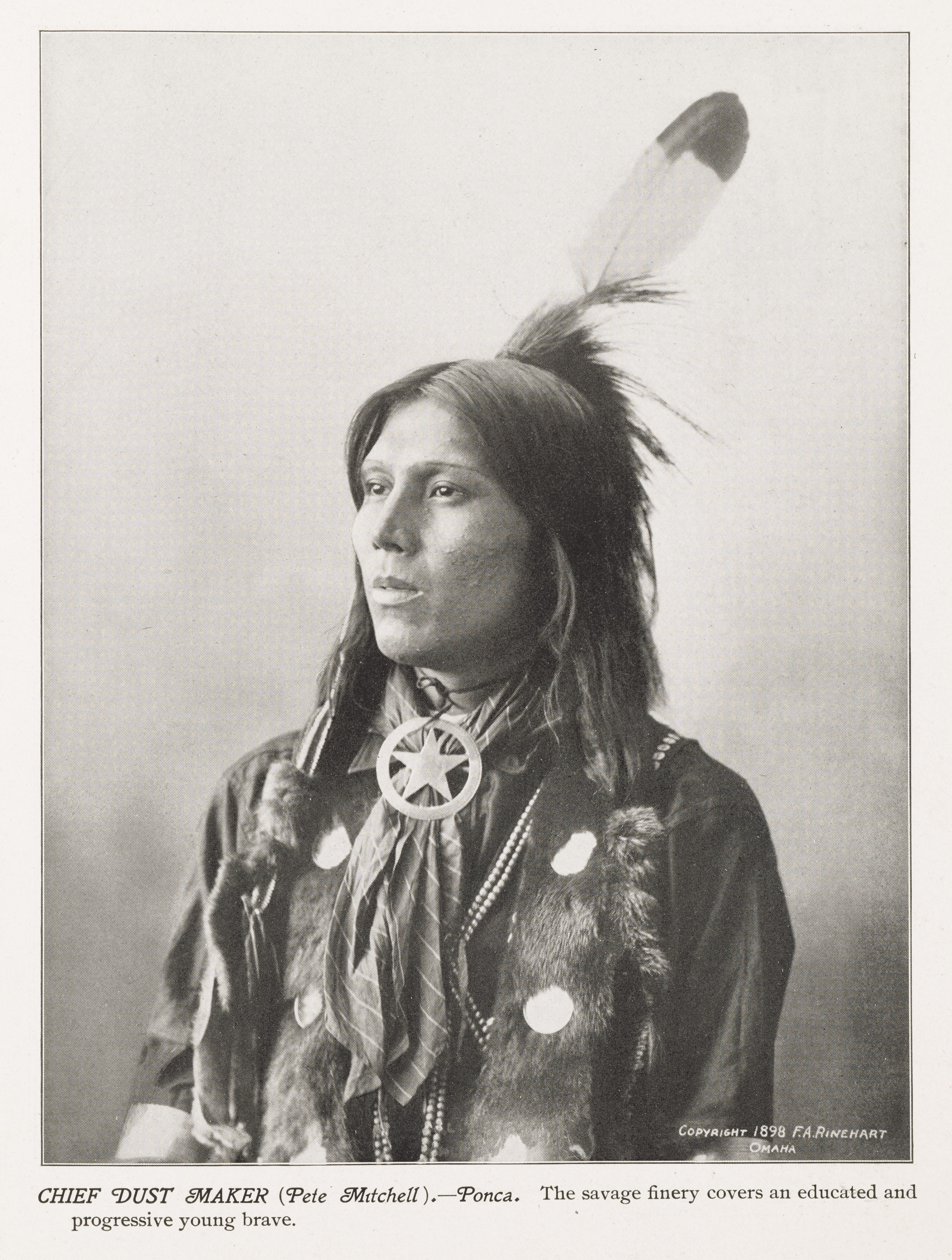 file chief goes to war rosebud sioux wellcome l0050854 jpg